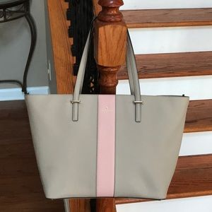 ♠️Kate Spade leather Colorblock tote ♠️